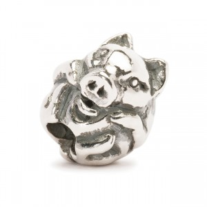 tagbe-40031 Trollbeads Chinese Pig (Retired)