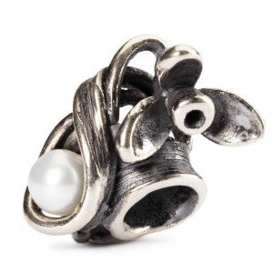 tagbe-00027 Trollbeads Snowdrop of January