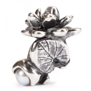 tagbe-00033 Trollbeads Water lilies of July