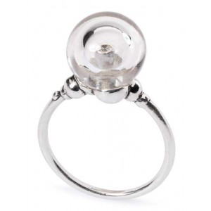 TAGRI-00041-00050 Trollbeads Ring Crystal Bubble (Retired)