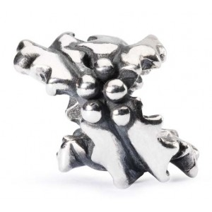 tagbe-10039 Trollbeads Holly Bushes (Retired)
