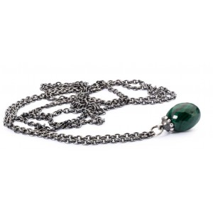 TAGFA-00034/40 Trollbeads Fantasy Necklace with Malachite