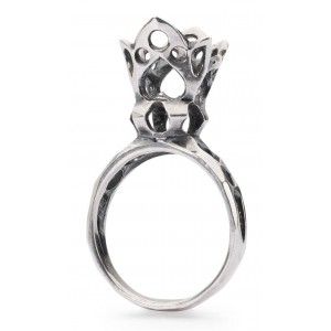 TAGRI-00311-00320 Trollbeads Crown of Fantasy Ring (Retired)