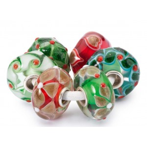 TGLBE-00076 Trollbeads Holly Jolly Beads Kit (Special Edition)