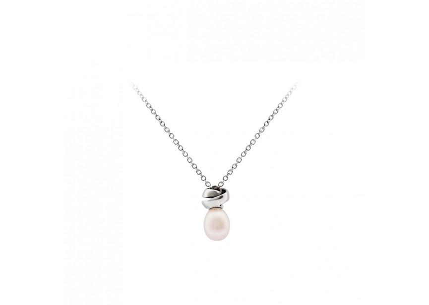 Fantasy Necklace with Pearl and Neverending