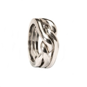 TAGRI-00171-00180 Trollbeads Ring Strength,Courage and wisdom