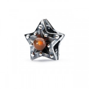 tagbe-00219 Trollbeads Star of Courage/Leo