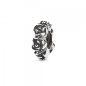 TAGBE-20186 Trollbeads Rose Spacer