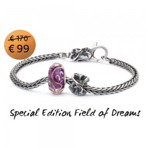 TSA18A Trollbeads Bracelet Field of Dreams