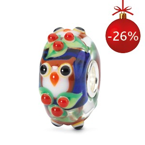 TGLBE-001461 Trollbeads hibou de lhiver (Special Edition)