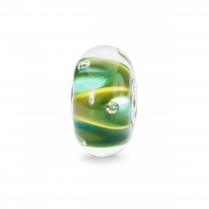 TGLBE-10446 Trollbeads Drops of green