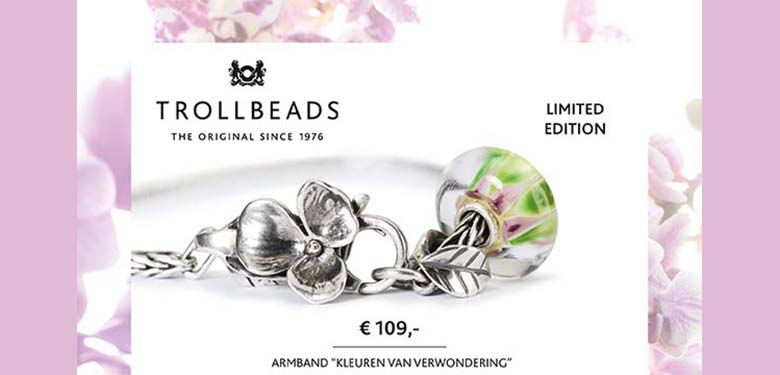 Slider Trollbeads Hues of wonder bracelet 2019