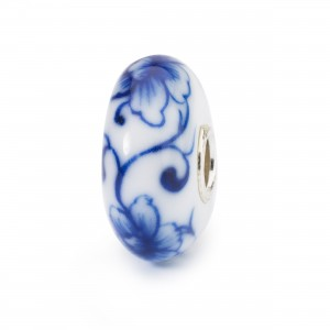 TBD2019-5 Perle journée Trollbeads 2019 Plum Tree Brush