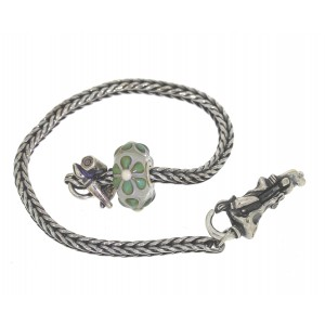TSA18G-5 Trollbeads Art to Go Unique Green bracelet