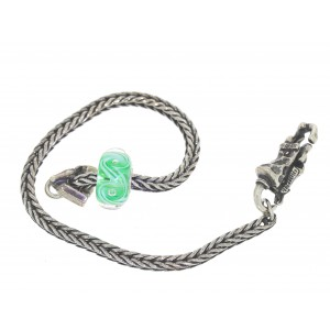 TSA18G-6 Trollbeads Art to Go Unique Green bracelet