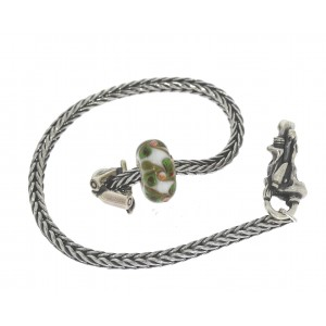 TSA18G-8 Trollbeads Art to Go Unique Green bracelet