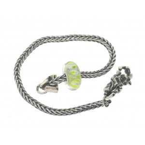 TSA18G-9 Trollbeads Art to Go Unique Green bracelet
