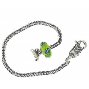 TSA18G-10 Trollbeads Art to Go Unique Green bracelet