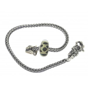 TSA18G-14 Trollbeads Art to Go Unique Green bracelet