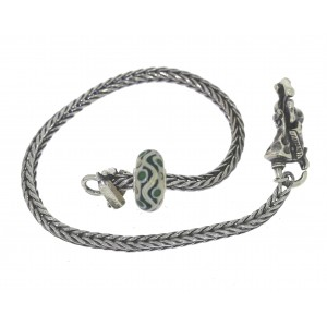 TSA18G-15 Trollbeads Art to Go Unique Green actie armband
