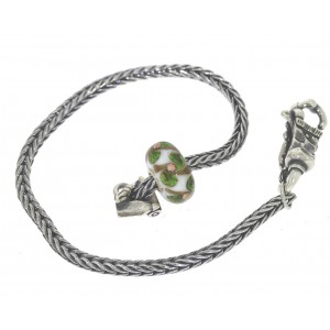 TSA18G-16 Trollbeads Art to Go Unique Green bracelet
