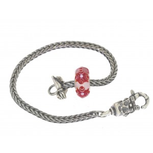 TSA18R-1 Trollbeads Art to Go Unique Red / Pink bracelet
