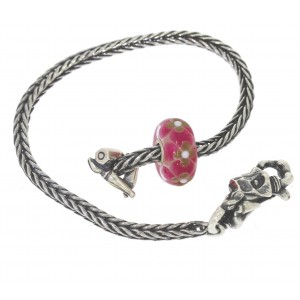 TSA18R-9 Trollbeads Art to Go Unique Red / Pink bracelet