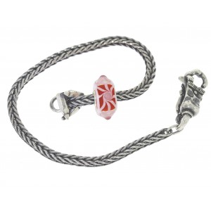 TSA18R-12 Trollbeads Art to Go Unique Red / Pink bracelet