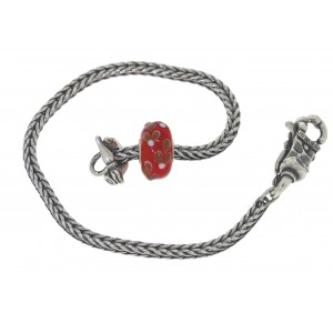 TSA18R-15 Trollbeads Art to Go Unique Red / Pink bracelet
