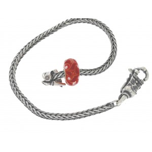 TSA18R-17 Trollbeads Art to Go Unique Red / Pink bracelet