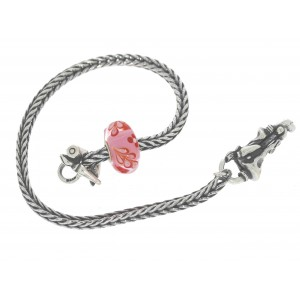 TSA18R-20 Trollbeads Art to Go Unique Red / Pink bracelet