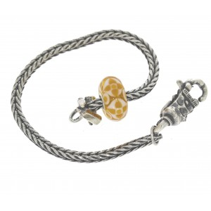 TSA18Y-5 Trollbeads Art to Go Unique Yellow/Brown bracelet