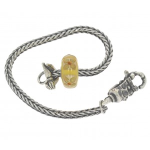 TSA18Y-6 Trollbeads Art to Go Unique Yellow/Brown bracelet