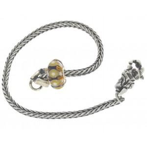 TSA18Y-8 Trollbeads Art to Go Unique Yellow/Brown bracelet
