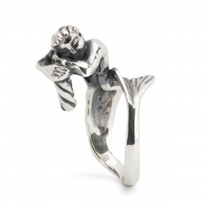 TAGRI-00500-00511 Trollbeads Mermaid Fantasy Ring