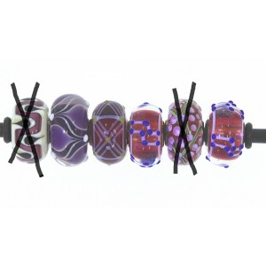 TU52 Trollbeads unique bead (1 piece)
