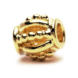 taube-00070 Trollbeads Royal gold