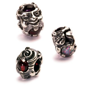tagbe-00088 Trollbeads Troll with gems