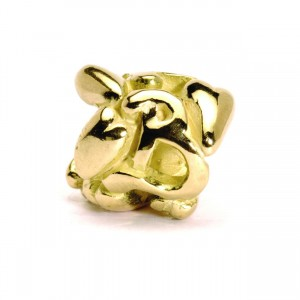 21144B Letter B goud (retired Bead)