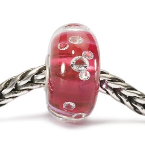 tglbe-00017 Trollbeads Diamond-like Roze