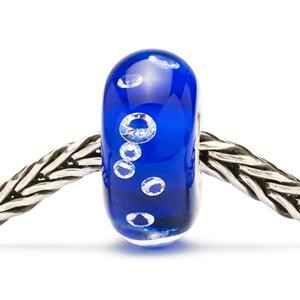 tglbe-00027 Trollbeads Diamond-like Blauw